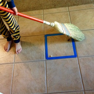 Sweeping fun